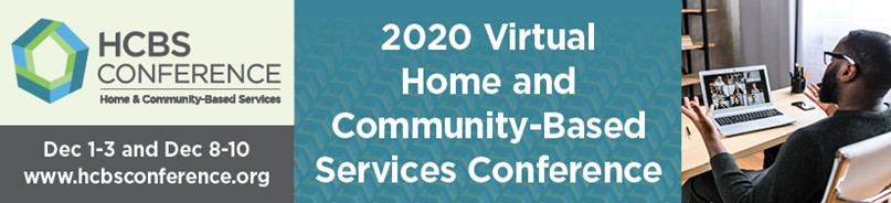 2020 Home and Community-Based Services Virtual Conference logo