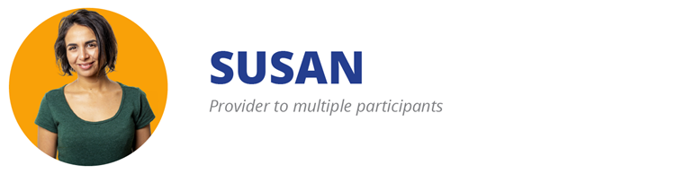 "CARES Act Provider Relief payment example ""Susan"""
